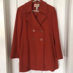 Talbots coat size 8, EUC!